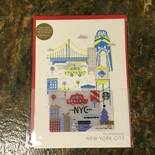 2016 Starbucks NYC / New York City HOLIDAY EDITION gift card **VERY LIMITED**