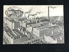 Pabst Blue Ribbon Beer Postcard 1909 Pre-prohibition Milwaukee WI Rare! PBR