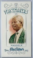 2013 Topps Allen & Ginter #PM-NM Nelson Mendela Mini NM/MT (Peacemakers)
