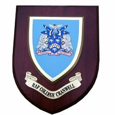 RAF College Cranwell Wall Plaque Royal Air Force Hand Made For MOD
