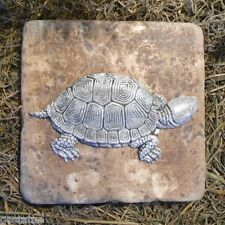"""turtle travertine tile mold  6"""" x 6"""" x 1/3"""" thick r   apid set cement all mould"""