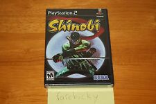 Shinobi (PS2 Playstation 2) NEW SEALED BLACK LABEL W/UPC, MINT & RARE!