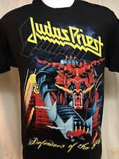 Judas Priest Defenders of the Faith t-shirt, NEW, Med. 2 sided