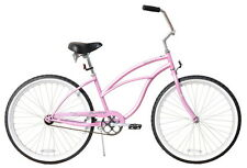 "NEW 24"" Women Beach Cruiser Bicycle Bike Firmstrong Urban Pink"