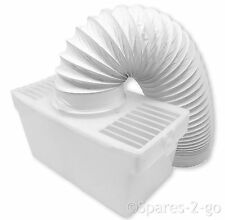 HOTPOINT Tumble Dryer Vented Condenser Box Kit + Vent Hose Pipe - Wall Mountable