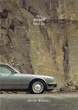 Jaguar Daimler Alloy Wheels 1994 UK Market Foldout Brochure XJ40 Series III XJS