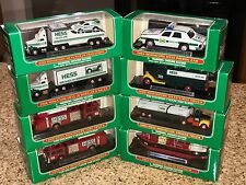 Hess Miniature Trucks 1999-2004 Lot of 8 In Boxes