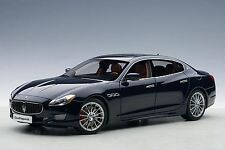 Maserati Quattroporte GTS 2015 Passion Blue AUTOart 75807 1/18 New Diecast Model