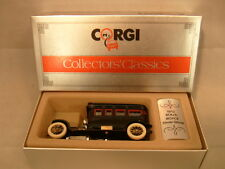 1985 MADE IN GREAT BRITAIN CORGI C860/2 1912 BLACK ROLLS-ROYCE SILVER GHOST MIB