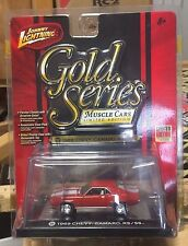 1969 CHEVY CAMARO RS/SS GOLD SERIES MUSCLE CARS JOHNNY LIGHTNING JL 1/64
