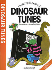 Chesters Easiest Dinosaur Tunes Learn to Play Piano Beginner Kids Music Book