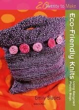 Eco-Friendly Knits: Using Recycled Plastic Bags (Twenty to Make)