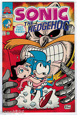 Sonic the Hedgehog Comic #1 Archie Adventure  Series First Issue Mar 1993