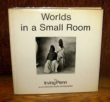 Irving Penn Worlds in a Small Room As An Ambulant Studio Photographer Hardcover