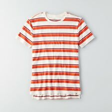 AMERICAN EAGLE OUTFITTERS Seriously Soft Stripe Crew T-Shirt Medium *Brand New*