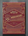 RARE New Sealed Red Monarchs Deck Playing Cards by Theory 11 1st edition V1