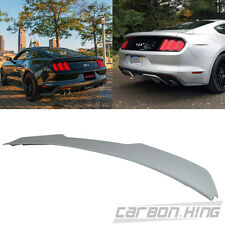 Unpaint Ford Mustang GT Ecoboost V Style Rear Trunk Spoiler 2016 Coupe 2DR