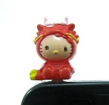 Happy Little Dragon Girl Earphone Jack Plug Accessory Anti Dust cover Topper