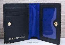 ORIGINAL Juicy Couture  Dylan Black Leather Medium Wallet NWT NOT FROM KOEHLS