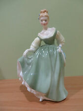 "Royal Doulton Figurine Fair Lady HN 2193 COPR 1962 Mint Hand Decorated 7"" Gift"