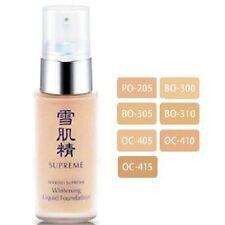JAPAN KOSE SEKKISEI SUPREME Whitening liquid foundation 30ml - Color OC410