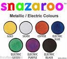Professional Snazaroo METALLIC Electric Face Body Paint Fancy Dress 18ml Make-Up