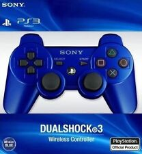 Brand New Sony Ps3 Wireless DualShock 3 SixAxis Controller - Metallic Blue