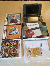 NINTENDO NEW 3DS XL Console + games / screen protectors / case / more!!