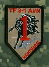 3-1 AVN Assault Helicopter Battalion NIGHTMARES supports 1st Infantry Division