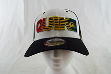 Quiksilver 39THIRTY New Era Hat High Crown White, Black, Rasta  NWT One Size