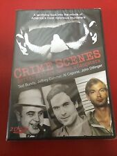 ** NEW Crime Scenes Serial Killers Madmen & Gangsters DVD Bundy Dahmer Capone