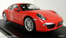 Nex models 1/18 Scale 18047W Porsche 911 991 Carrera S Red diecast model car