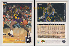 NBA UPPER DECK 1994 COLLECTOR'S CHOICE - Tyrone Corbin #138 - Ita/Eng- MINT