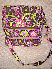 Vera Bradley MAILBAG in PURPLE PUNCH, Pristeen pre owned condition