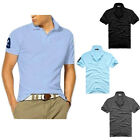 2015 New Mens Stylish Casual Slim Fit Short Sleeve Polo Shirt T-shirts Tee Shirt