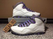 AIR JORDAN 10 RETRO Violet White Purple Nike X 1 3 4 5 6 7 11 OVO DB 2005 9.5 8