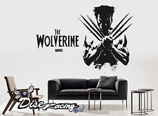 Pegatina vinilo decorativo pared Vinyl wall sticker Wolverine XMEN Superheroes