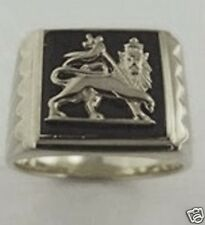 New Lion of Judah Sterling Silver Ring - Popular Model Bob Marley