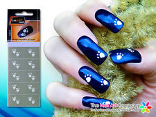 SmART-nails - Paws Nail Art Stencil Set N002 Professional Nail Product