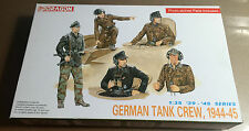 DRAGON 6014 - GERMAN TANK CREW 1944-45 - 1/35 NUOVO