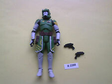 STAR WARS CLONE WAR COMMANDER DOOM AVEC ARME - BLACK SERIE - ANNEE 2014 REF 2398