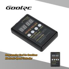 GoolRC Programming Card for RC Car Brushless Electronic Speed Controller Y0O4