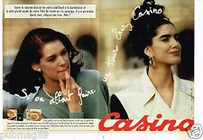 Publicité advertising 1991 (2 pages) Les Magasins Casino