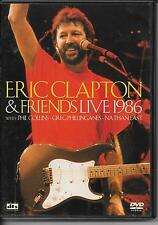 DVD ALL ZONES--CONCERT--ERIC CLAPTON & FRIENDS--LIVE 1986 WITH COLLINS-EAST-