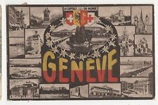 Switzerland, Geneve 1921 Postcard, A860