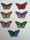 Schmetterling Aufnäher / Aufbügler Bügelbild butterfly patch Kinder Bügel Bild