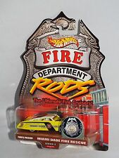 Hot Wheels Fire Department Rods Series 2 Miami Dade Purple Passion Real Riders