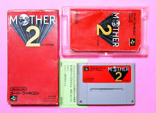 #978 MOTHER II 2 EARTHBOUND BOX Nintendo Famicom Game Japan SNES SFC Free ship