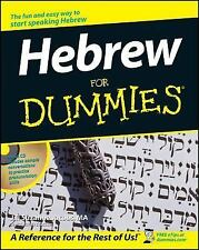 Hebrew for Dummies® by Jill Suzanne Jacobs (2003, CD-ROM / Paperback)