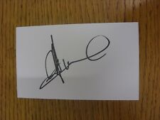 "2013/2014 Preston North End: Hume, Iain [Autographed White Card 5""x 3""]. Conditi"